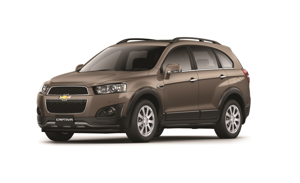 Chevrolet Captiva, 7 seats