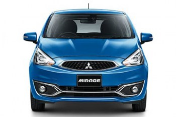 Mitsubishi Mirage rent in pattaya