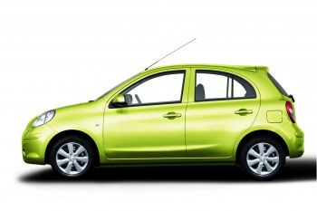 Nissan March for rent in Pattaya