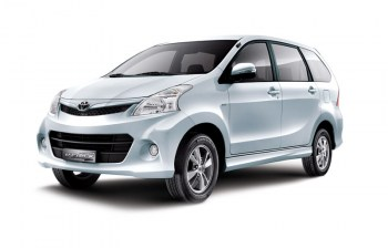 Toyota avanza for rent in Pattaya